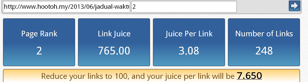 PageRank 2 Link Juice Calculator - Ecreative Internet Marketing